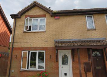 Thumbnail 3 bed semi-detached house for sale in Pettingrew Close, Walnut Tree, Milton Keynes