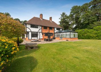 Thumbnail 6 bed detached house for sale in London Road, Camberley, Surrey GU15.