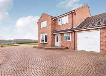 Thumbnail 4 bed detached house for sale in Wrights Lane, Cridling Stubbs, Knottingley