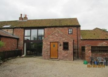 Thumbnail 3 bed barn conversion to rent in Great Barugh, Malton