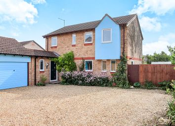 Thumbnail 4 bed detached house for sale in Teasles, Deeping St. James, Peterborough