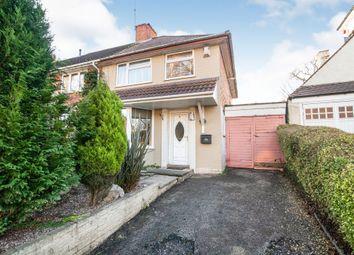 Thumbnail 3 bed end terrace house for sale in Haunch Lane, Kings Heath, Birmingham