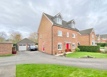 Thumbnail 5 bed detached house for sale in Pemberton Close, Ightfield, Whitchurch