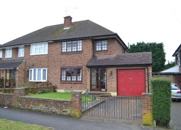 Thumbnail 3 bedroom semi-detached house for sale in Bramley Way, Ashtead
