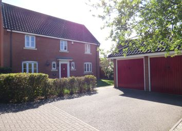 Thumbnail 4 bed detached house for sale in Eastfield Road, Long Stratton