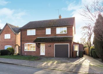 Thumbnail 4 bedroom detached house to rent in Scotgate Close, Great Hockham, Thetford