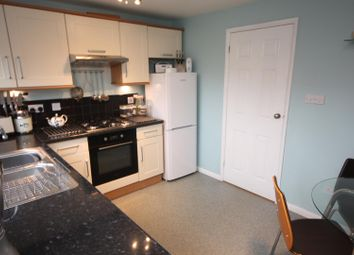 Thumbnail 2 bed town house for sale in Martin Drive, Syston, Leicester