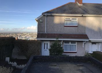 Thumbnail 3 bed end terrace house for sale in Gwynedd Avenue, Townhill, Swansea