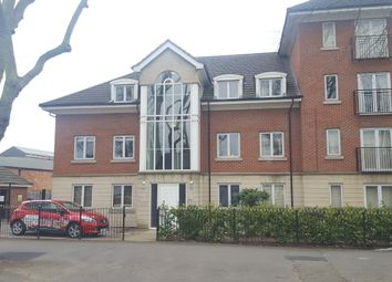 Thumbnail 2 bed flat to rent in Blackbird Road, Stadium Estate, Leicester