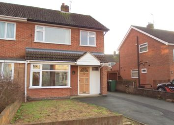 Thumbnail 3 bed semi-detached house to rent in Loweswater Drive, Loughborough