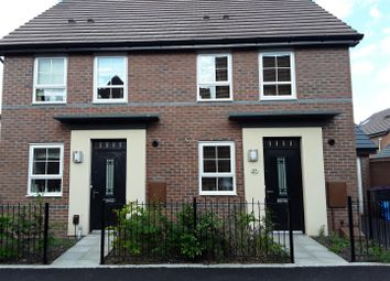 Thumbnail 2 bedroom semi-detached house for sale in Rees Way, Lawley Village, Telford