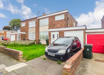 Thumbnail 3 bed semi-detached house for sale in Prestwick Avenue, North Shields