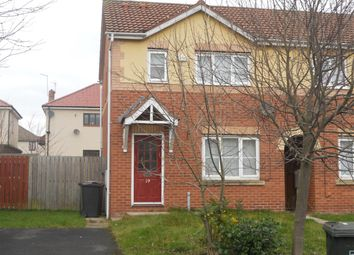 Thumbnail 3 bed semi-detached house for sale in Brahman Avenue, North Shields, Newcastle Upon Tyne