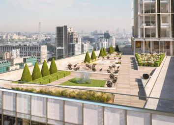 Thumbnail 3 bed flat for sale in Aykon London One, Nine Elms, London