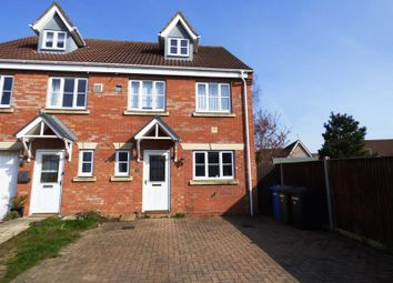 Thumbnail 4 bedroom semi-detached house for sale in Diprose Drive, Lowestoft