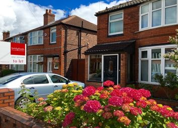 Thumbnail 3 bedroom semi-detached house to rent in Heathside Road, Withington, Manchester