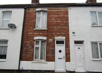 Thumbnail 2 bed terraced house for sale in 18 Portland Terrace, Gainsborough, Lincolnshire