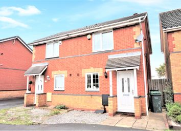 Thumbnail 2 bed semi-detached house for sale in Deeley Drive, Tipton