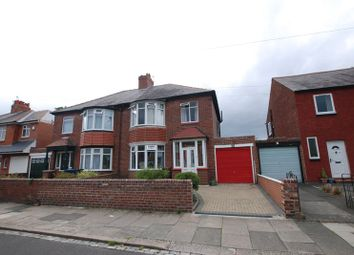 Thumbnail 3 bedroom semi-detached house for sale in Archibald Street, Gosforth, Newcastle Upon Tyne