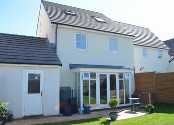Thumbnail 4 bed semi-detached house for sale in Swallow Way, Cullompton