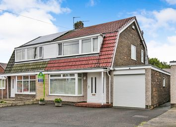 Thumbnail 3 bed semi-detached house for sale in Tanmeads, Nettlesworth, Chester Le Street