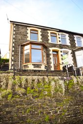 Thumbnail 2 bedroom end terrace house to rent in Aberrhondda Road, Porth