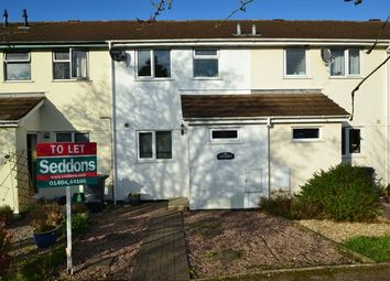 Thumbnail 3 bed terraced house to rent in Rosewell Close, Honiton
