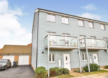 Thumbnail 3 bed town house for sale in Honeysuckle Close, Cringleford, Norwich
