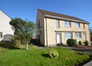 Thumbnail 4 bed semi-detached house for sale in Glebe Avenue, Dreghorn, North Ayrshire