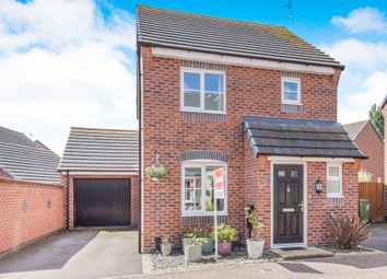 Thumbnail 3 bed detached house for sale in Clarke Crescent, Countesthorpe, Leicester