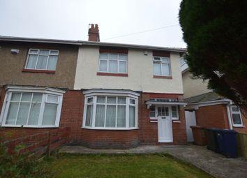 Thumbnail 3 bedroom semi-detached house for sale in Shipley Avenue, Fenham, Newcastle Upon Tyne
