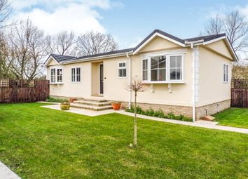 Thumbnail 2 bed mobile/park home for sale in Lazy Otter Meadows, Stretham, Ely
