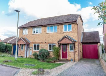 Thumbnail 3 bed semi-detached house for sale in Saunders Close, Twyford, Reading