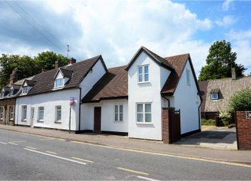 Thumbnail 3 bed end terrace house for sale in High Street, Bassingbourn, Royston