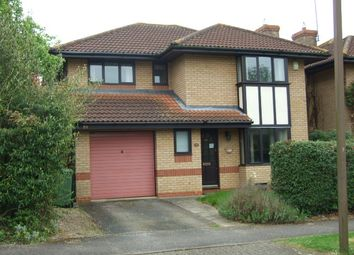 Thumbnail 4 bed detached house for sale in Isaacson Drive, Wavendon Gate