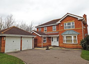 Thumbnail 4 bed detached house for sale in Lilleshall Drive, Bedford, Bedfordshire