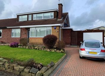 Thumbnail 3 bed semi-detached house for sale in St. Johns Road, Smalley, Ilkeston