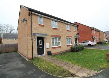Thumbnail 3 bedroom semi-detached house to rent in Henblas Court, Wrexham