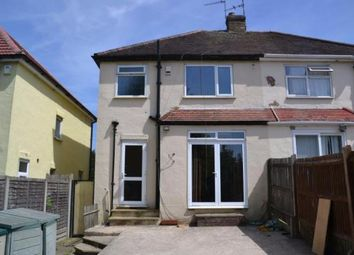 Thumbnail 3 bedroom semi-detached house to rent in Leicester Road, Luton