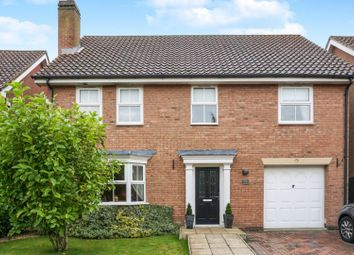 Thumbnail 4 bed detached house for sale in Sandfield Green, Market Weighton
