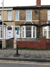 Thumbnail 3 bedroom terraced house to rent in Clarendon Road, Blackpool