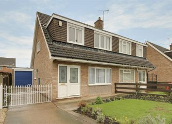 Thumbnail 3 bed semi-detached house for sale in Cranthorne Drive, Bakersfield, Nottinghamshire