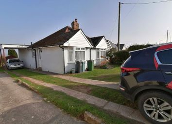 Newport Road, Cowes PO31. 3 bed detached bungalow for sale