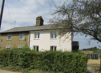Thumbnail 2 bed cottage to rent in Huntingdon Road, Lolworth, Cambridge