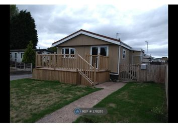 Thumbnail 2 bed mobile/park home to rent in Navigation Mobile Homes, Derby