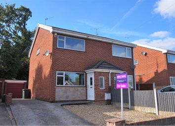 Thumbnail 2 bed semi-detached house for sale in Hall View, Wrexham