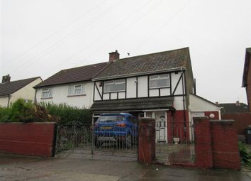Thumbnail 3 bedroom semi-detached house for sale in Heol Pant Y Deri, Ely, Cardiff