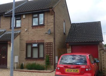 Thumbnail 3 bedroom semi-detached house to rent in Hoylake Drive, Farcet, Peterborough