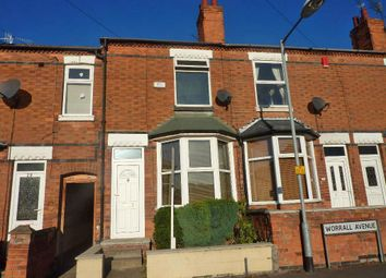 Thumbnail 2 bed terraced house for sale in Worrall Avenue, Arnold, Nottingham