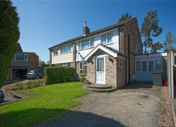 Thumbnail 4 bed semi-detached house for sale in Rockwood Grove, Calverley, Pudsey, West Yorkshire